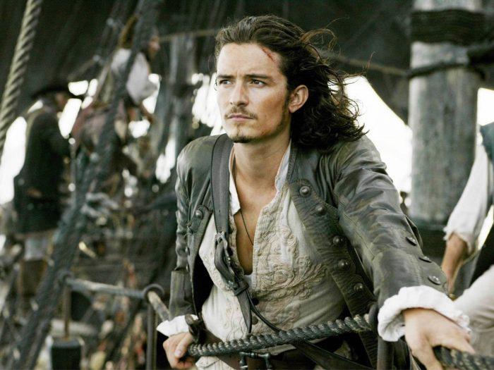 «Пираты Карибского моря: Мертвецы не рассказывают сказки» (Pirates of the Caribbean: Dead Men Tell No Tales) в 3D: Орландо Блум (Orlando Bloom) в роли Уилла Тёрнера (Will Turner)