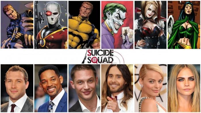 Отряд самоубийц 3D (Suicide Squad): объявлен актёрский состав