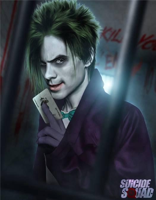 Джареда Лето (Jared Leto), который подарит жизнь заклятому врагу Бэтмена (Batman) – Джокеру (Joker)