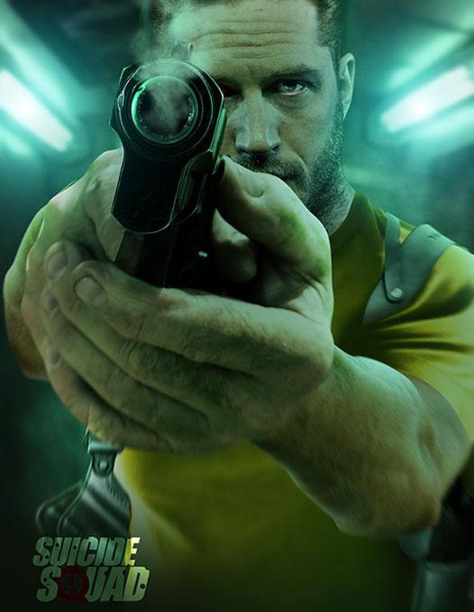 Возглавит отряд самоубийц персонаж Тома Харди (Tom Hardy) – Рик Флэг (Rick Flag)