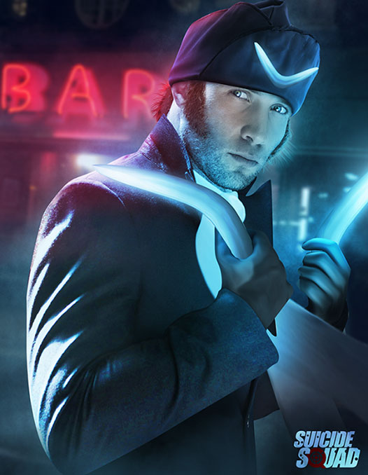 Джай Кортни (Jai Courtney), которому предстоит стать Капитаном Бумерангом (Captain Boomerang)