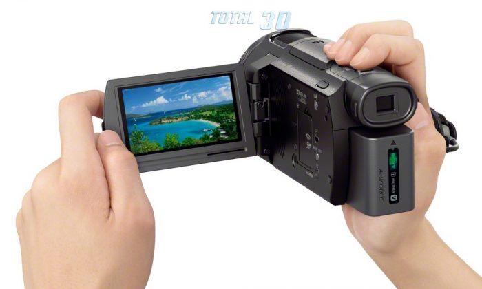 Цифровая 4K-видеокамера Sony Handycam FDR-AX33