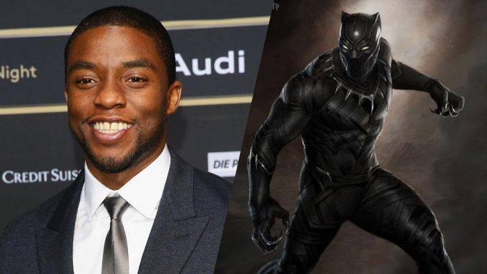 Чёрная Пантера 3D (Black Panther): Чедвик Боузман (Chadwick Boseman)