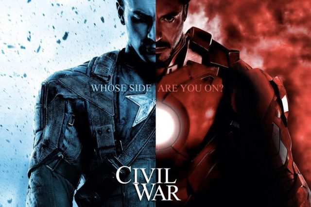 Первый мститель: Гражданская война 3D (Captain America: Civil War): первые подробности