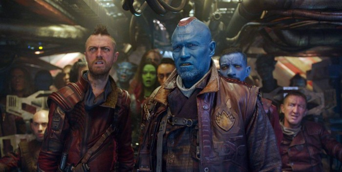 Стражи Галактики 2 в 3D (Guardians of the Galaxy 2): Краглин (Kraglin) и Йонду (Yondu)