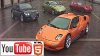 Стерео 3D от Panasonic: шикарные автомобили на YouTube 3D