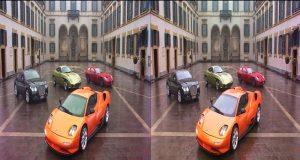 Стерео 3D от Panasonic: итальянские машины на YouTube 3D