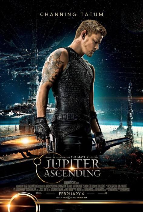 Восхождение Юпитер 3D (Jupiter Ascending): Ченнинг Татум (Channing Tatum) в роли Кейна Вайза (Caine Wise)