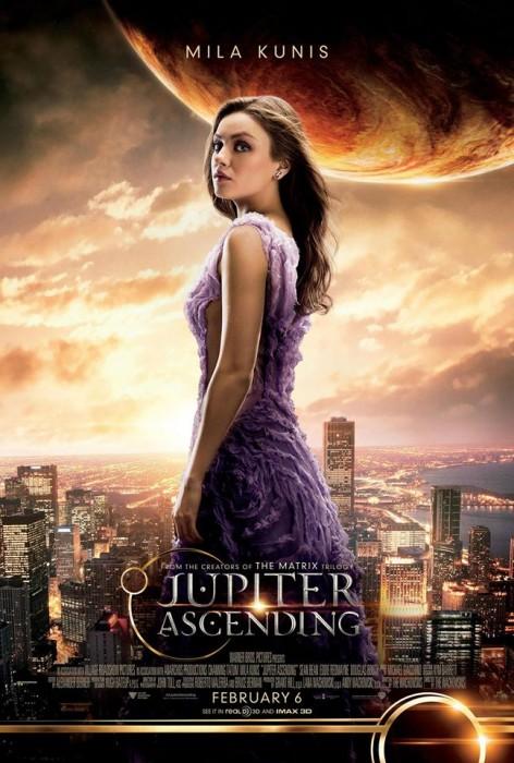 Восхождение Юпитер 3D (Jupiter Ascending): Мила Кунис (Mila Kunis) в роли Юпитер Джонс (Jupiter Jones)
