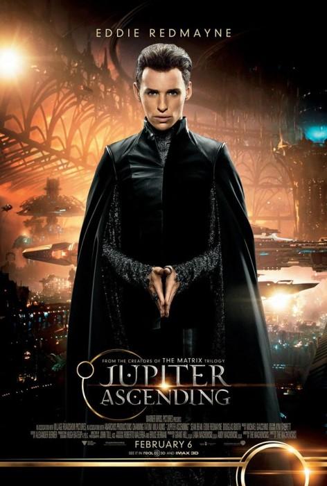 Восхождение Юпитер 3D (Jupiter Ascending): Эдди Редмэйн (Eddie Redmayne) в роли Balem Abrasax