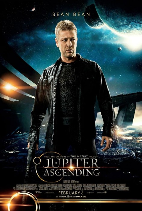 Восхождение Юпитер 3D (Jupiter Ascending): Шон Бин (Sean Bean) в роли Stinger Apini