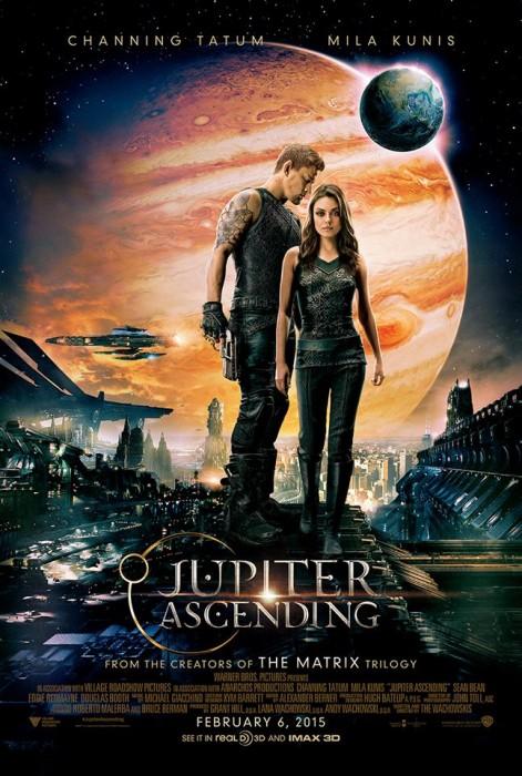 Восхождение Юпитер 3D (Jupiter Ascending): новые материалы к киноленте