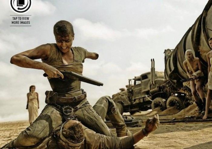 Безумный Макс: Дорога ярости 3D (Mad Max: Fury Road): Шарлиз Терон (Charlize Theron) в роли Фьюриосы (Furiosa)