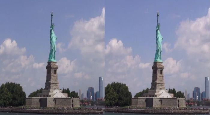 Прогулка по Нью-Йорку на YouTube 3D