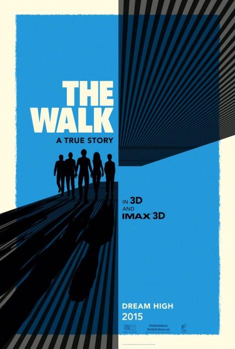 Прогулка 3D (The Walk, «Дотянуться до облаков»): подробности, первый постер и дублированный трейлер