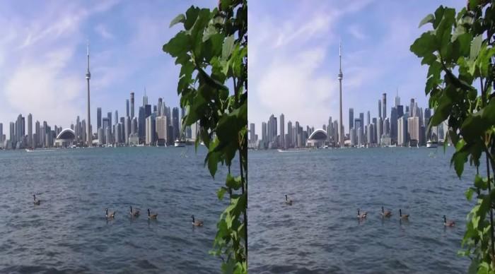 YouTube стерео 3D: Торонто глазами туриста