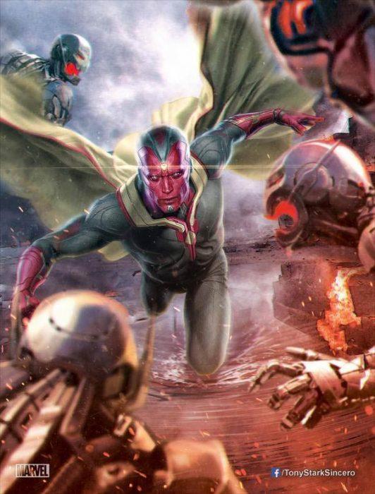 Мстители: Эра Альтрона 3D (Avengers: Age of Ultron): Вижен (Vision),