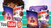 Дом 3D (Home): 7-минутный эпизод на YouTube в стерео 3D