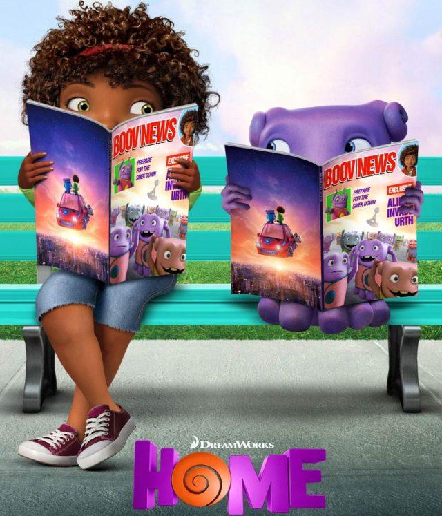Дом (Home) в 3D: трёхмерный эпизод на YouTube 3D