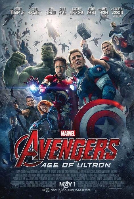 Мстители: Эра Альтрона 3D (Avengers: Age of Ultron): новые постеры и подробности о киноленте
