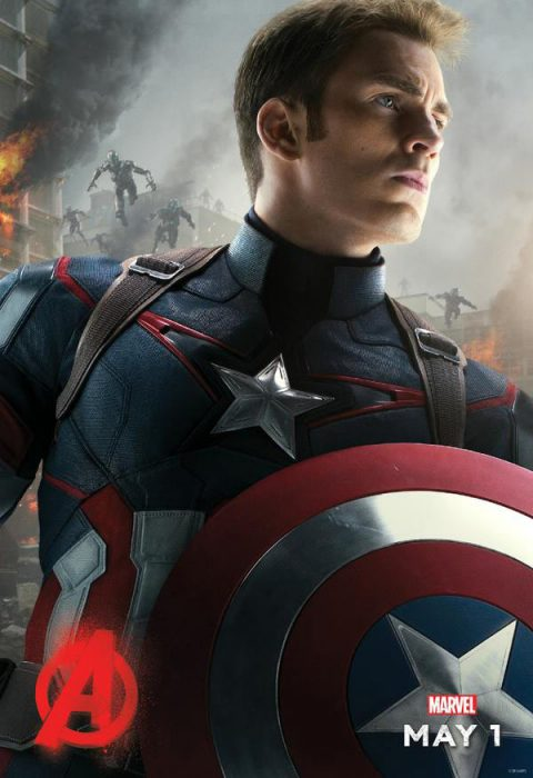 Мстители: Эра Альтрона 3D (Avengers: Age of Ultron): Капитан Америка (Captain America)