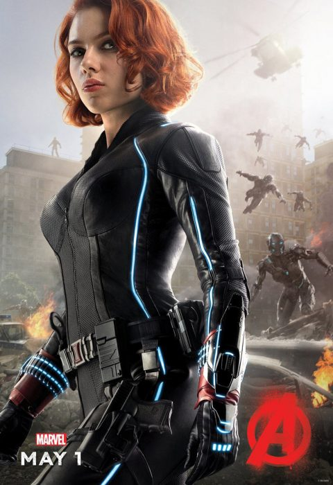 Мстители: Эра Альтрона 3D (Avengers: Age of Ultron): Чёрная Вдова (Black Widow).
