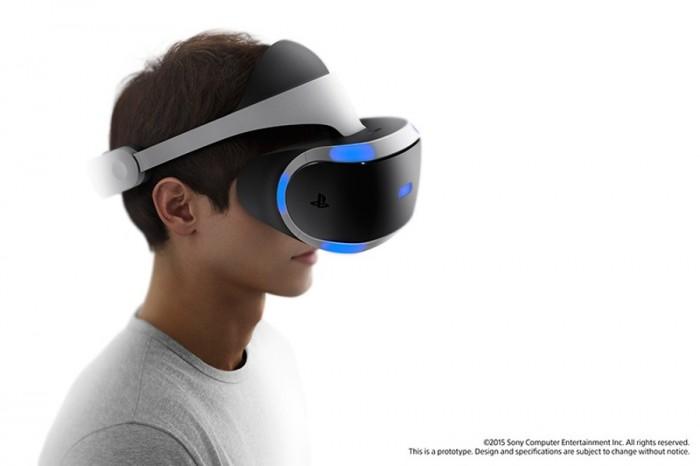 VR-шлем Sony Morpheus для PS4