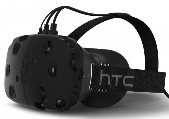 Конкурирующий VR-шлем HTC Vive