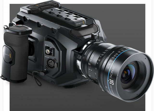 Blackmagic URSA Mini: лёгкая цифровая кинокамера с 4,6K-сенсором Super 35