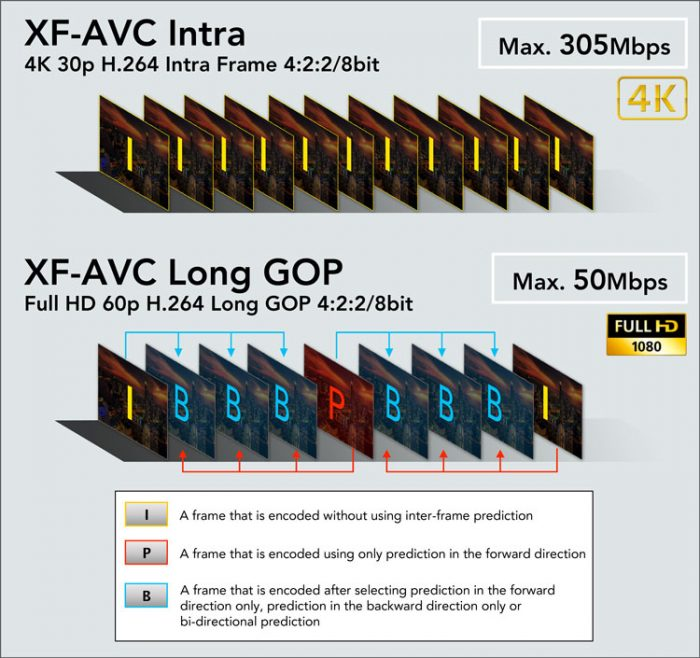 Canon XF-AVC: ещё один MPEG-4 AVC/H.264 кодек для профи