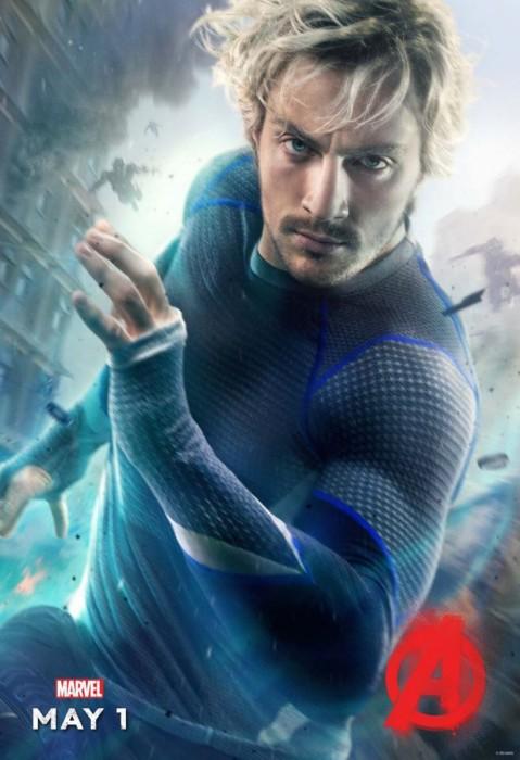 Мстители: Эра Альтрона 3D (Avengers: Age of Ultron): Ртуть (Quicksilver)