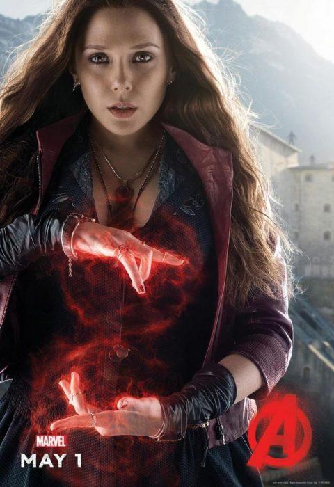 Мстители: Эра Альтрона 3D (Avengers: Age of Ultron): Алая Ведьма (Scarlet Witch)