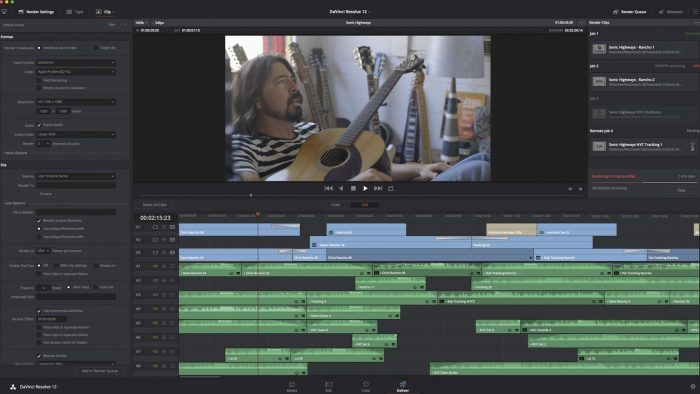 Blackmagic DaVinci Resolve 12: проект