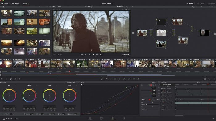 Blackmagic DaVinci Resolve 12: работа с цветом