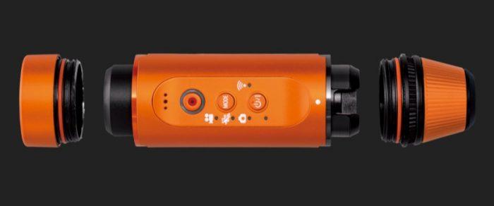 Экшн-камера Panasonic HX-A1MEE: съёмка в полной темноте