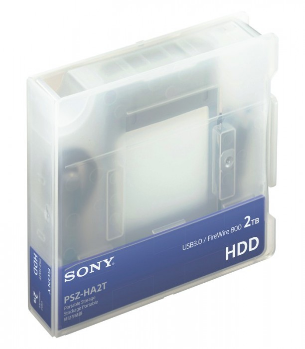 Накопители Sony PSZ-HB1T и PSZ-HB2T ёмкостью 1 Тбайт и 2 Тбайт, соответственно с интерфейсами Thunderbolt и USB3.0