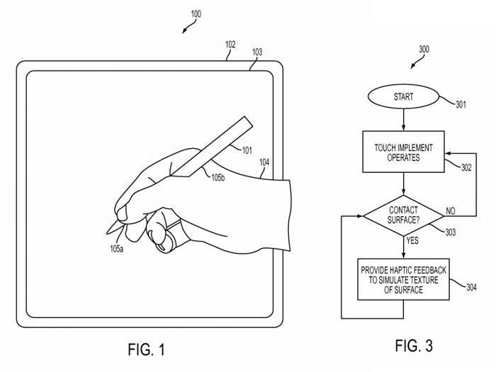 Apple запатентовала ручной ввод 3-мерных поверхностей стилусом