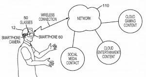 Патент Sony на AR/VR-очки с отслеживанием позиционирования