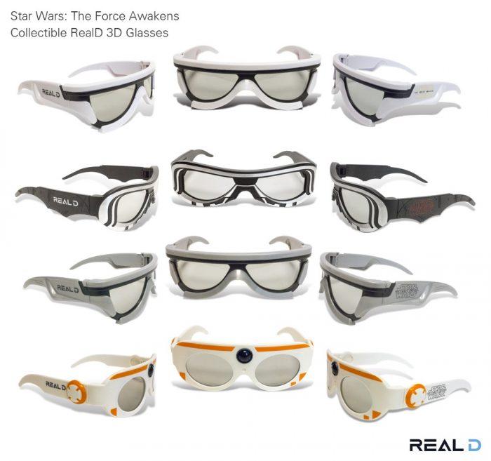 3D очки RealD «Звёздные Войны: Пробуждение Силы»