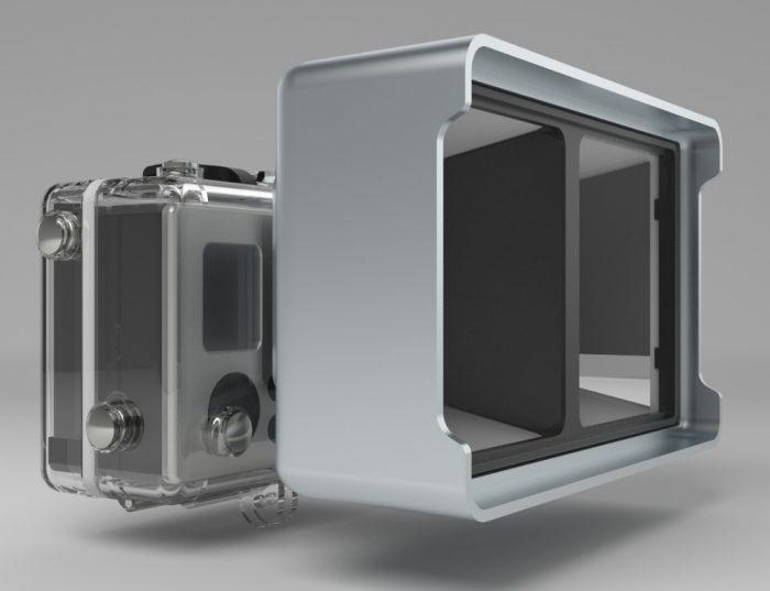 Vitrima 3D: недорогая стерео 3D-насадка на камеру GoPro