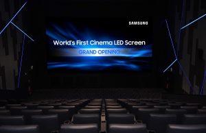 LED-экран Samsung Cinema Screen