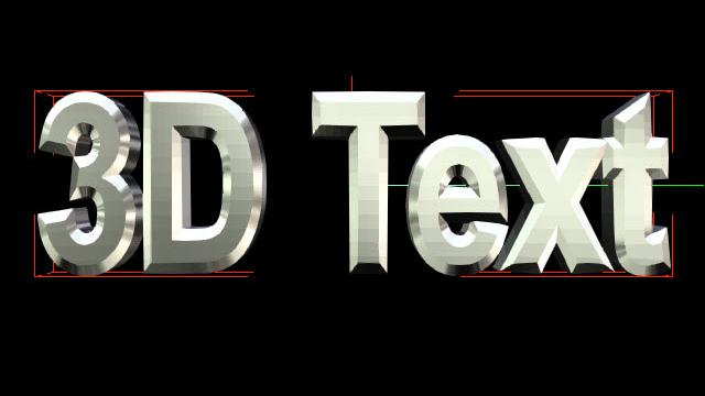 Редактор 3D титров