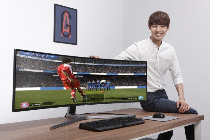монитор Samsung CHG90 с ультрашироким полем обзора
