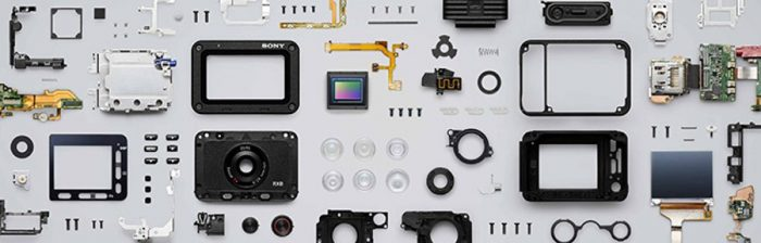 Компоненты камеры Sony RX0
