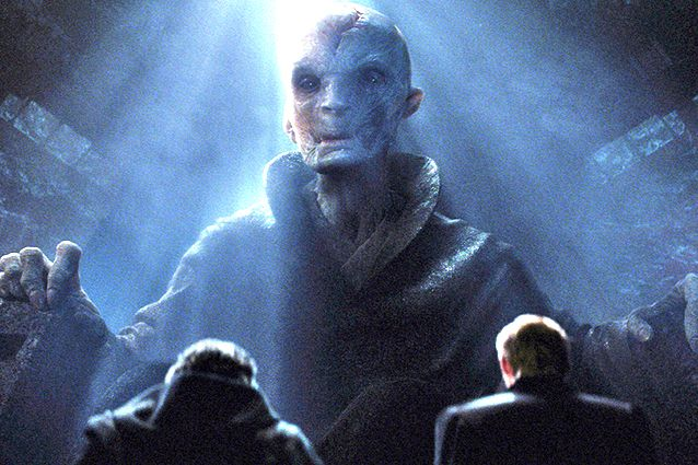 Верховный лидер Сноук (Supreme leader Snoke) – Энди Серкис (Andy Serkis)