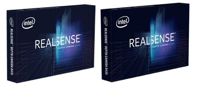 3D-камеры RealSense D415 и D435