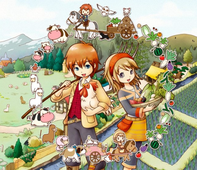Больше информации о 3D-игре Harvest Moon: The Tale of Two Towns – на выставке E3 2011