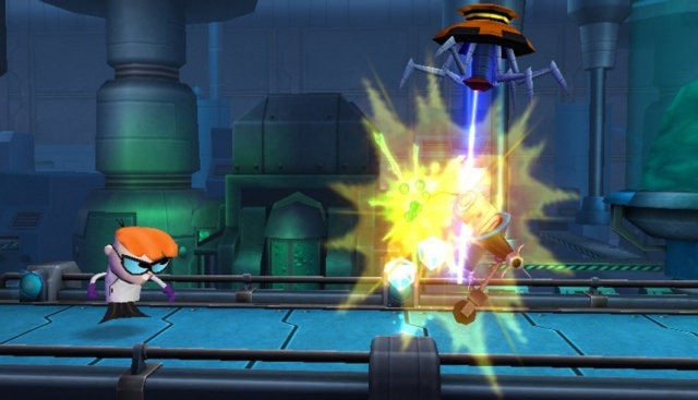 Новая 3D-игра Cartoon Network: Punch Time Explosion для Nintendo 3DS