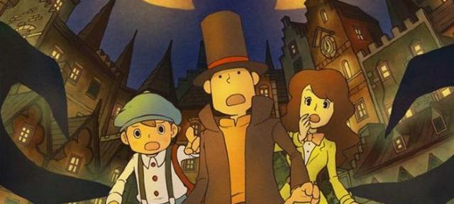3D-игра Professor Layton and the Mask of Miracle для Nintendo 3DS
