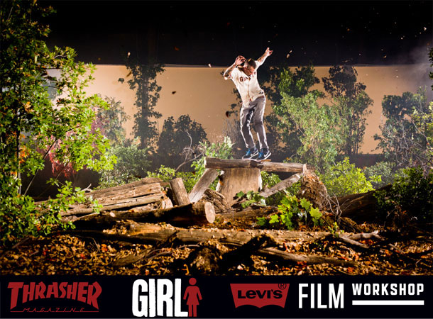 Стерео 3D-фильм Unbeleafable: A Girl Skateboards 3D Film